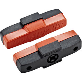 Kool Stop Brake Pads for Magura HS 11/22/24/33 salmon/black